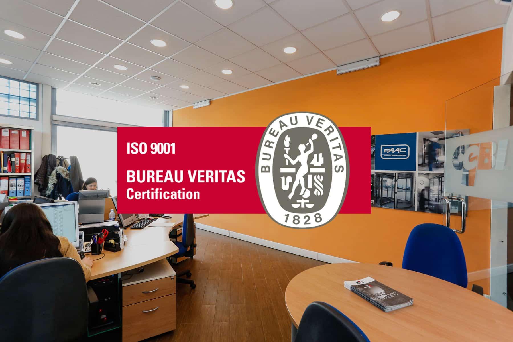 Cebi Srl Roma - Certificati ISO 9001 - Ingressi Automatici