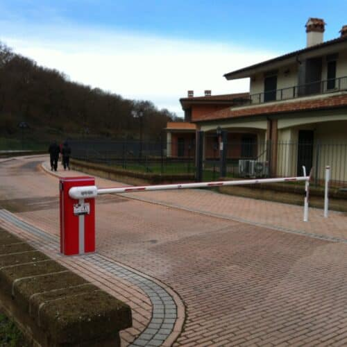 Barriera Automatica Faac, Golf Club, Roma