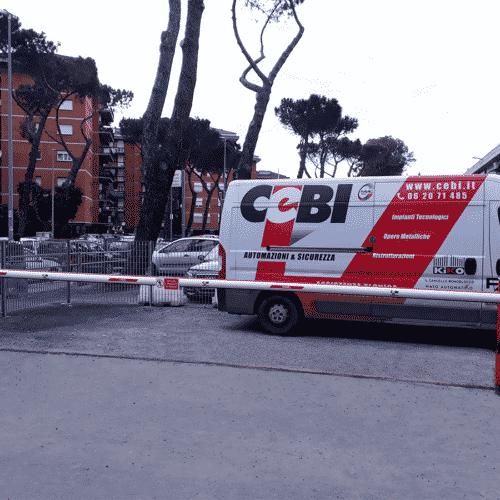 Barriera automatica Faac B680H 7 metri - Fornitura e installazione - Roma - CEBI