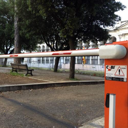 Barriera automatica Faac, Basilica di San Paolo, Roma - Siti sensibili - Cebi S.r.l.