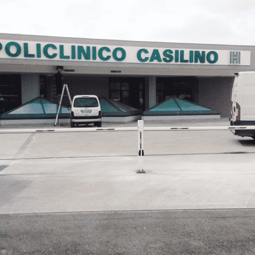 Barriera automatica Faac, Policlinico Casilino, Roma