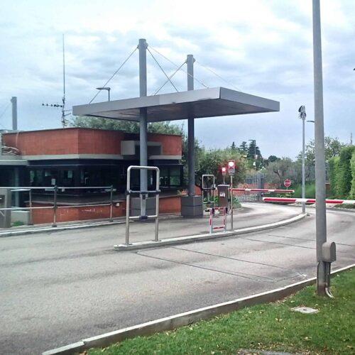 Barriere automatiche FAAC presso ESA ESRIN - Frascati (Roma) - Cebi