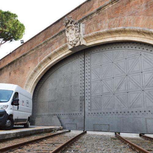Cancello Ferroviario Vaticano - ripristino funzionale e ristrutturazione - CEBI srl