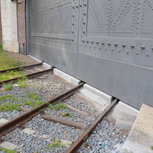 Cancello Ferroviario Vaticano - ripristino funzionale e ristrutturazione CEBI srl - Roma