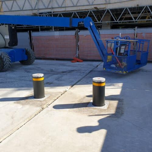 Dissuasori Faac Centro Commerciale Casilino - Progettazione e Installazione Cebi Srl - Roma