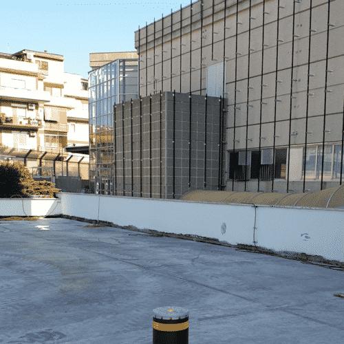 Dissuasore Faac Centro Commerciale Casilino - Progettazione e Installazione Cebi Srl - Roma