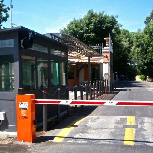 Barriera automatica Faac, Guardia di Finanza, Porta Furba, Roma
