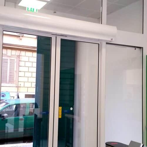 Porta automatica FAAC, Lazio Innova Spa, Roma