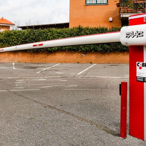 Barriera automatica FAAC Cebi, Roma