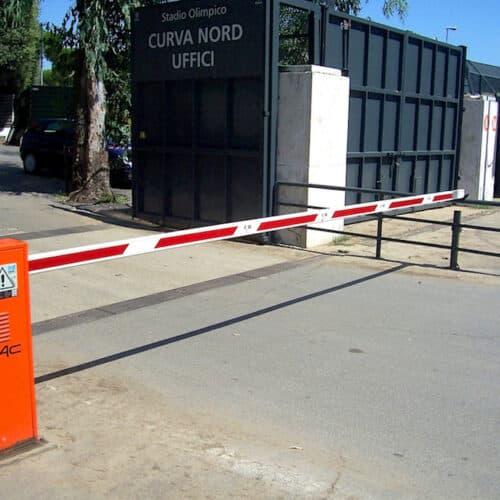 Barriera automatica Faac, Stadio Olimpico, Roma