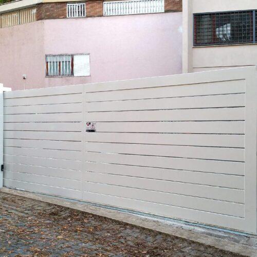 Cancello automatico scorrevole, Roma, Cebi