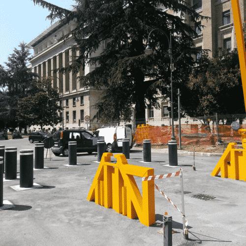 Dissuasori Antiterrorismo, Aeronautica Militare, Viale dell'Università, Roma - Cebi