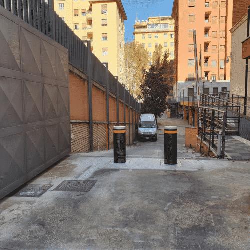 Dissuasori automatici per la difesa di siti sensibili, Guardia di Finanza, Roma - Cebi