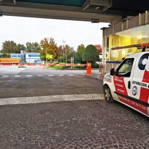 Barriere automatiche Faac presso Birra Peroni, Roma | Fornitura e Installazione CEBI srl