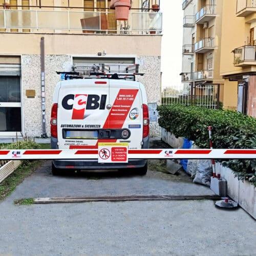 Barriera automatica Faac - Installazione a Roma - CEBI Srl