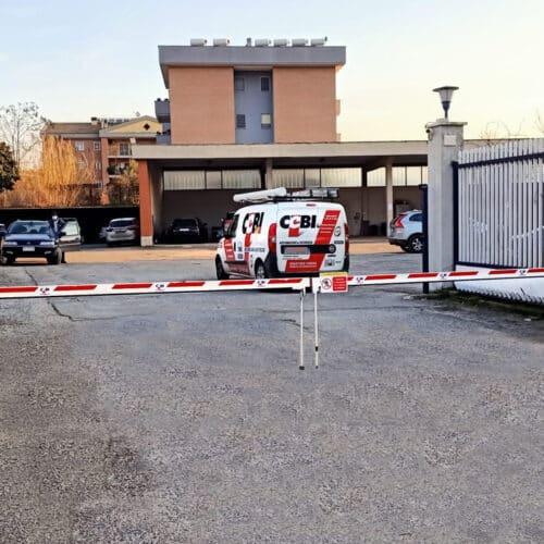 Barriere automatiche Faac presso Rossetti Spa - fornitura e installazione chiavi in mano CEBI SRL, Roma