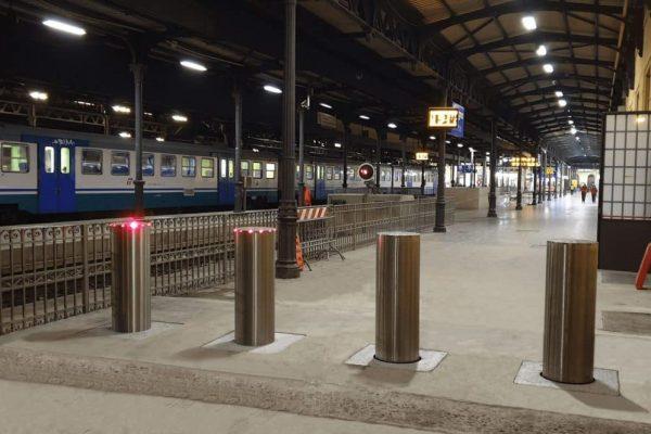 Dissuasori Antiterrorismo Faac Cebi, Stazione ferroviaria di Bologna Centrale